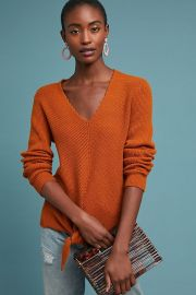 Freeport Ribbed Sweater at Anthropologie