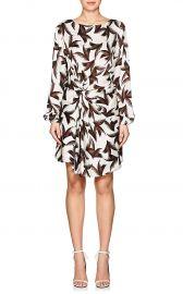 Freja Palm-Leaf-Print Silk Dress by ALC at Barneys