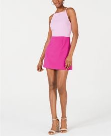 French Connection Whisper Colorblock Dress   Reviews - Dresses - Women - Macy s at Macys