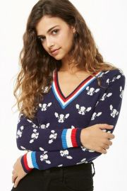 French Bulldog Pullover by Forever 21 at Forever 21