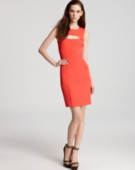 French Connection Dress - Glamour Stretch Cutout at Bloomingdales