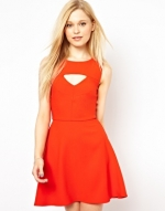 French Connection Feather Ruth dress at Asos