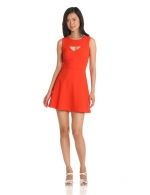 French Connection Feather Ruth dress in Orange at Amazon at Amazon