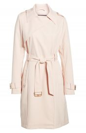 French Connection Flowy Belted Trench Coat at Nordstrom