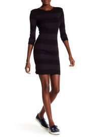 French Connection Manhattan Winter Stripe Dress at Nordstrom Rack