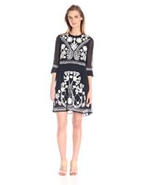 French Connection Women s Kiko Stitch Dress at Amazon