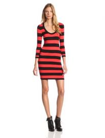 French Connection Womenand39s Classic Stripe Scoop Sweater Dress at Amazon