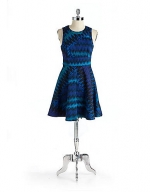 French Connection Zig Zag print dress at Lord & Taylor
