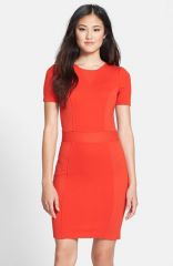French Connection and39Manhattanand39 Textured Body-Con Dress at Nordstrom