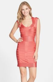 French Connection and39Miami Spotlightand39 Cap Sleeve Bandage Dress at Nordstrom