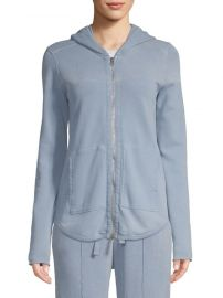 French Terry Zip-Up Hoodie by ATM Anthony Thomas Melillo at Saks Off 5th