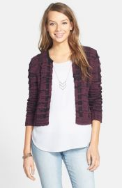 Frenchiand174 Crop Crewneck Cardigan at Nordstrom