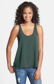 Frenchiand174 Woven Swing Tank in Green Bistro at Nordstrom