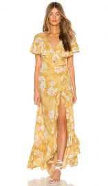 Frill Seeker Maxi Dress by Amuse Society at Revolve