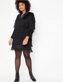 Fringe Blazer Dress at Eloquii