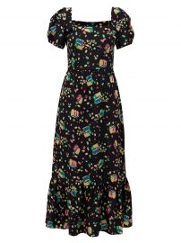 Fromer Treasure Chest-Print Dress by HVN at Matches