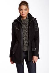 Front zip coat by bcbg at Nordstrom Rack
