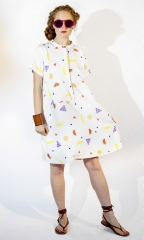 Fruitty Tee Dress at Dusen Dusen