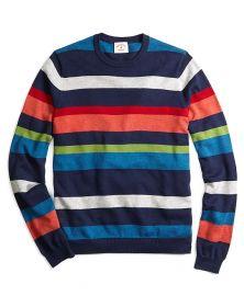 Fun Stripe Sweater at Brooks Brothers