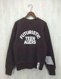 Futuristic Teenagers Print Sweatshirt by Human Made at Grailed