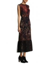 Fuzzi - Floral Tailored Dress at Saks Fifth Avenue