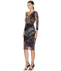Fuzzi Fitted Dress at Zappos