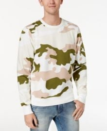 G Star RAw Camouflage Sweatshirt at Macys