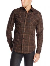 G-Star Raw Menand39s Rackler Longsleeve Shirt In Check Raven at Amazon