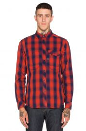 G-Star Wolker Victor Check Overshirt at Revolve
