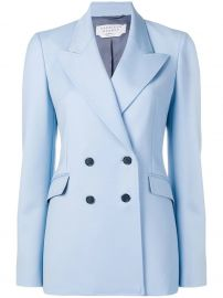 GABRIELA HEARST classic double-breasted blazer at Farfetch