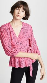 GANNI Barra Blouse at Shopbop