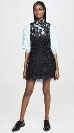 GANNI Feathery Cotton Dress at Shopbop