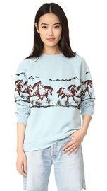 GANNI Jefferson Isoli Sweatshirt at Shopbop
