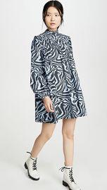 GANNI Printed Cotton Poplin Dress at Shopbop