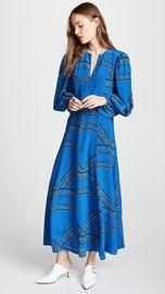 GANNI Sandwashed Silk Dress at Shopbop