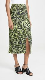 GANNI Soft Tiger Skirt at Shopbop