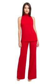 GARDENIA TWO PIECE JUMPSUIT at Black Halo
