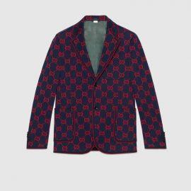 GG Jersey Formal Jacket at Gucci