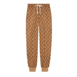 GG TECHNICAL JERSEY JOGGING PANT at Gucci