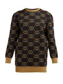 GG-jacquard wool-blend sweater at Matches