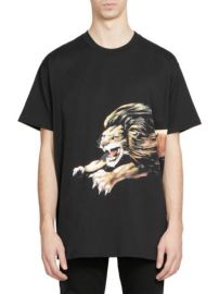 GIVENCHY - LION LOGO TEE at Saks Fifth Avenue