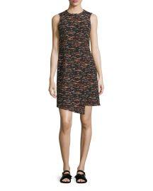 GREY by Jason Wu Sleeveless Tweed Dress Asymmetric Hem at Neiman Marcus