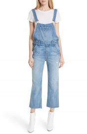 GRLFRND Alek Crop Flare Overalls  The Wild One    Nordstrom at Nordstrom