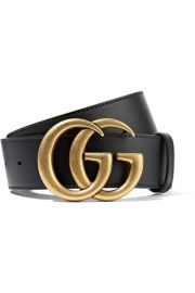 GUCCI - LEATHER BELT - BLACK at Net A Porter