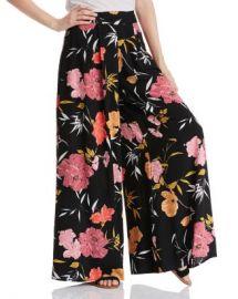 GUESS Charissa Floral-Print Palazzo Pants  Women - Bloomingdale s at Bloomingdales