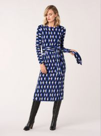 Gabel Merino Wool Belted Dress at Diane von Furstenberg