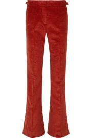 Gabriela Hearst - Thompson cotton-corduroy flared pants at Net A Porter