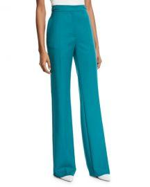 Gabriela Hearst Vesta Wool Wide-Leg Pants at Neiman Marcus