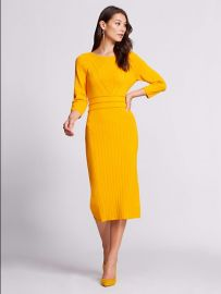 Gabrielle Union Collection - Stitched Sweater Dress at NY&C
