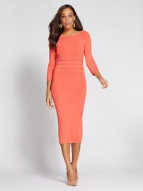 Gabrielle Union Collection Stitched Sweater Dress by New York & Company at NY&C